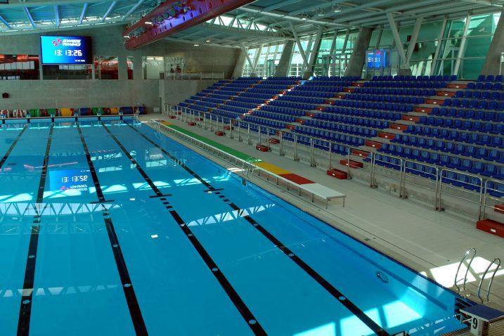 Nedostaje slobodnih termina za građanstvo na bazenima na Kantridi  Foto/Damir ŠKOMRLJ