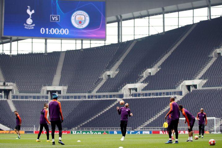 Manchester City je prvi europski gost na novom stadionu Tottenhama/Foto REUTERS