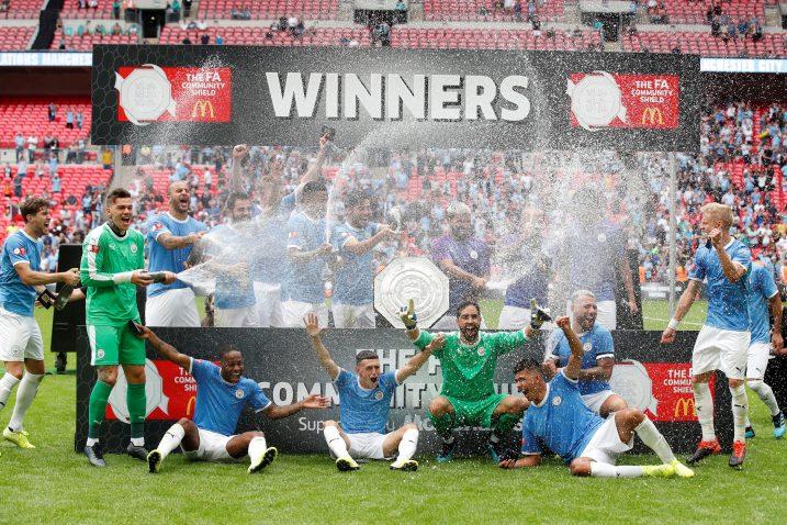 Nogometaši Manchester Cityja s prvim trofejom u novoj sezoni/Foto REUTERS