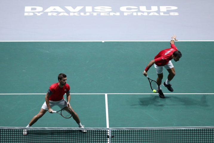 Ivan Dodig i Nikola Mektić/Foto REUTERS