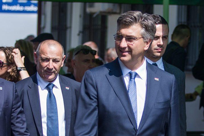 Tomislav Medved i Andrej Plenković / Foto:Davor Javorovic/PIXSELL