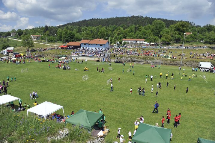 Na igralištu Crikvena Draga nedavno se održala Olimpijada dječijih vrtića