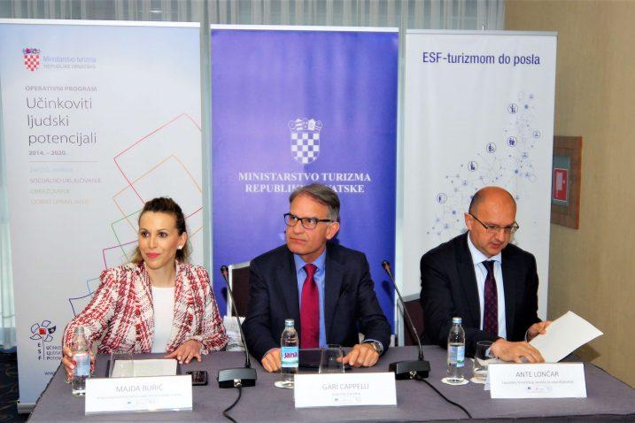Majda Burić, Gari Cappelli i Ante Lončar