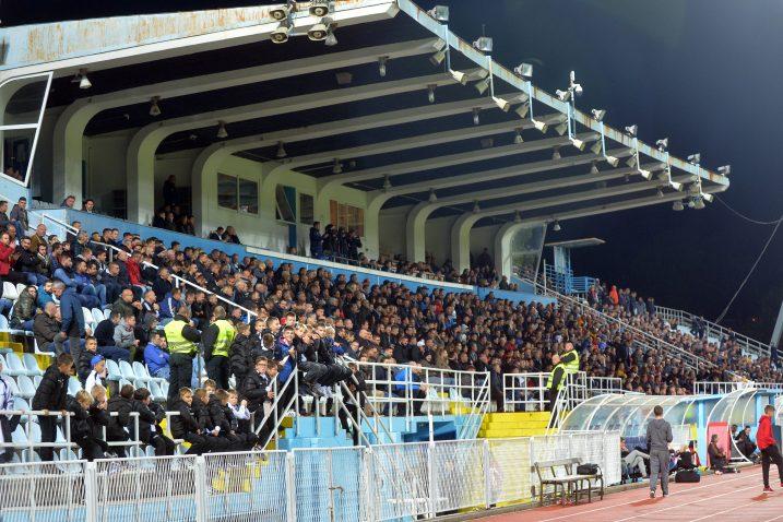 Ispunjena centralna tribina stadion na Kantridi/D. ŠKOMRLJ
