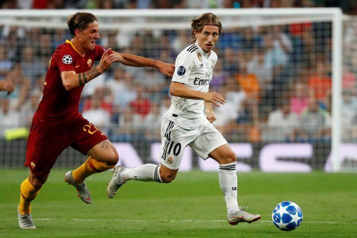Luka Modrić protiv Rome je odigrao najbolju partiju nakon SP-a