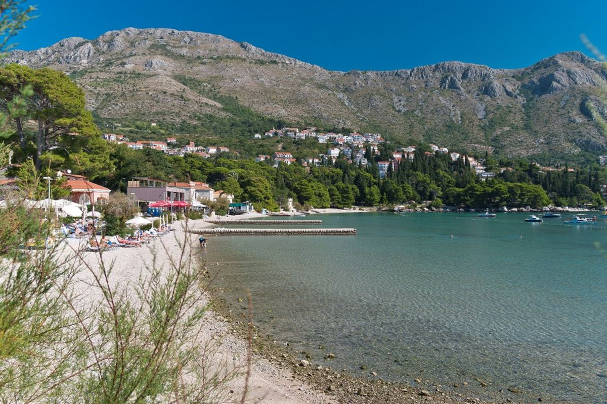 Plaža Srebreno, Foto Dubrovačko-neretvanska županija