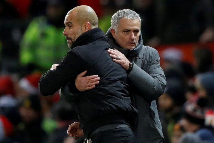 Pep Guardiola i Jose Mourinho/Foto REUTERS