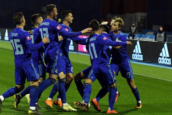 Nogometaši Dinama praktički su već osigurali novi naslov prvaka/Foto Arhiva NL