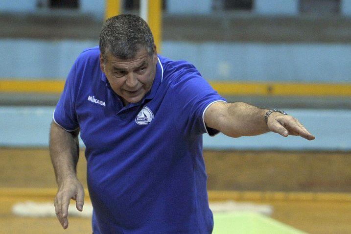 Velimir Liverić, trener odbojkaša Rijeke/Foto Arhiva NL
