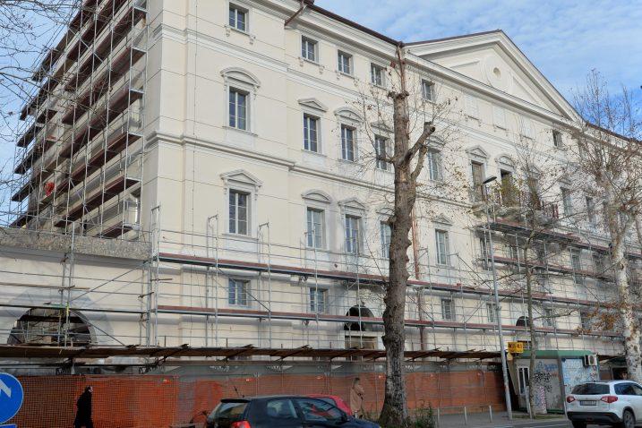 Palača će uskoro zasjati novim sjajem / Foto  Damir ŠKOMRLJ