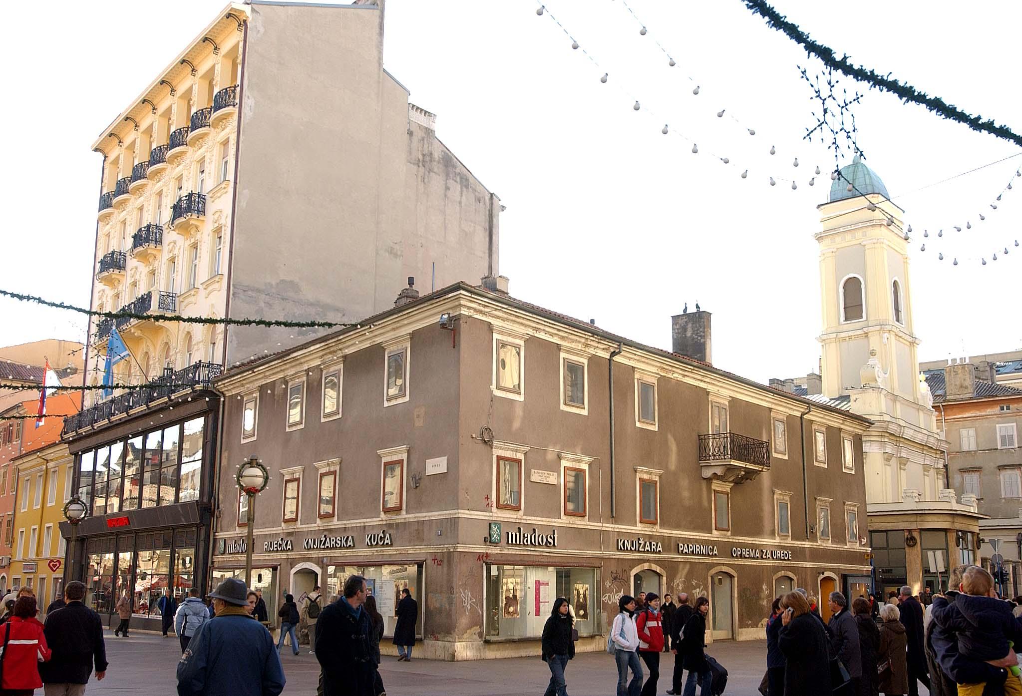 Ovako je zgrada izgledala u siječnju 2005. godine