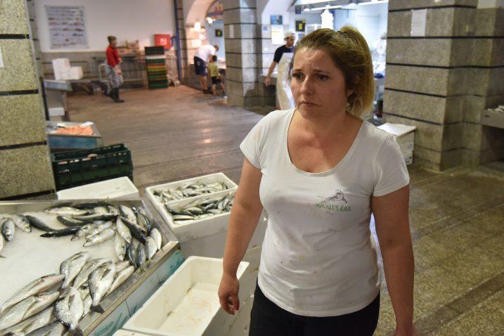 Ermina Zemunović, majka prodavačice Ene Zemunovic na koju je bačena kiselina  / Foto Duško Marušić / PIXSELL