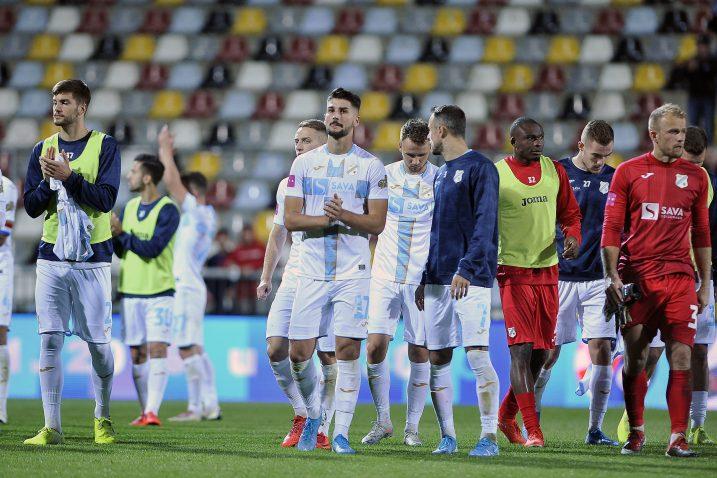 Nogometaši Rijeke ponovo su razočarali protiv Gorice/Foto R. BRMALJ