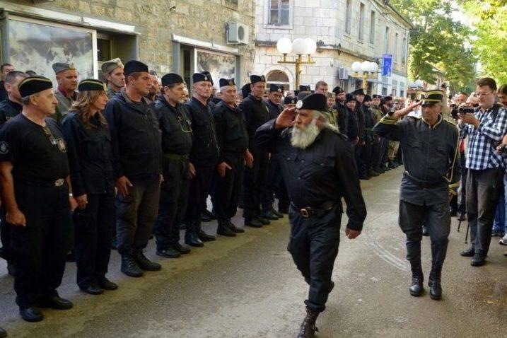 Jedan od četničkih skupova u Bileći / foto: mojahercegovina.info
