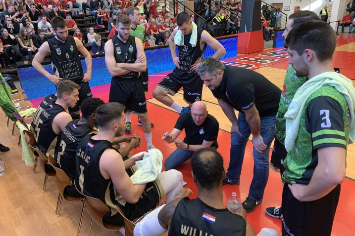 Košarkaši Adria Oil Škrljeva dogovaraju taktiku