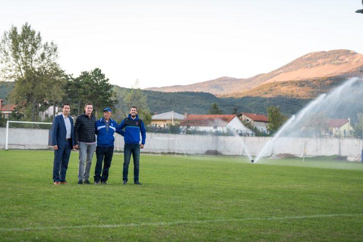 Sportska infrastruktura je unaprijeđena, poručuju čelnici Općine Jelenje NK Rječine