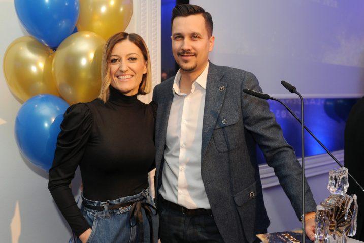 Domaćini svečanost bili su Ivana Martinac i Marko Tolja / Snimio Darko JELINEK