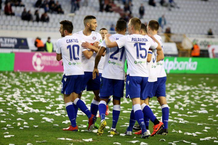 Slavlje nogometaša Hajduka/Foto PIXSELL