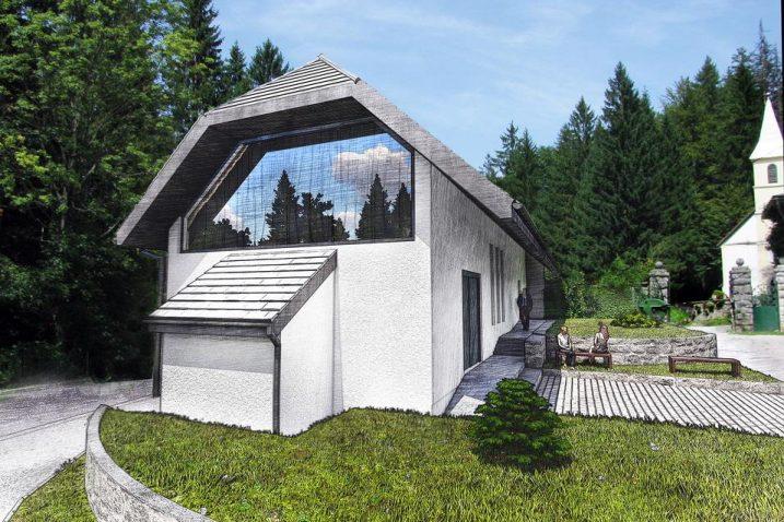 Ovako bi Centar za posjetitelje o velikim zvijerima trebao izgledati u rujnu 2020.  / Snimio Marinko KRMPOTIĆ
