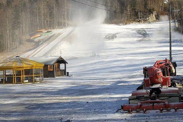 Kvalitetnim umjetnim snijegom pokriveno 80 posto staze Radeševo