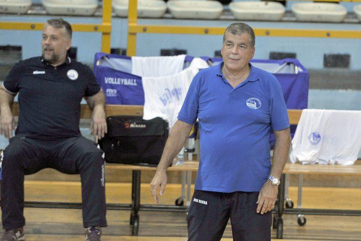 Velimir Liverić, trener riječkih odbojkaša/Foto Arhiva NL