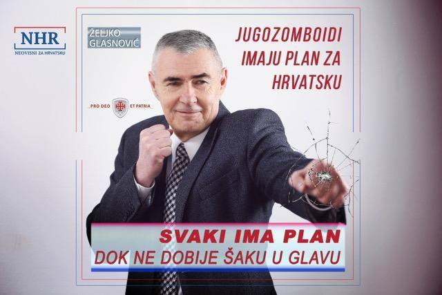 Plakat generala Glasnović