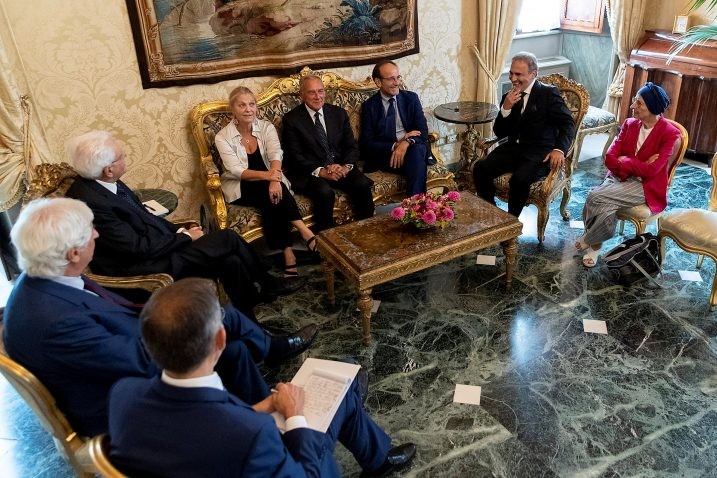 Foto Presidential Palace/Paolo Giandotti/Handout via REUTERS