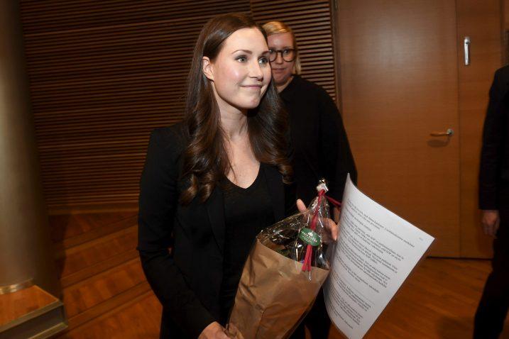 Sanna Marin, najmlađa premijerka na svijetu Foto REUTERS