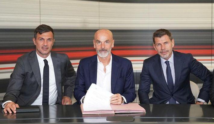 Paolo Maldini, Stefano Pioli i Zvone Boban