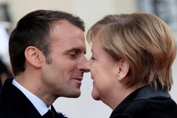 Emmanuel Macron i Angela Merkel / Foto: REUTERS