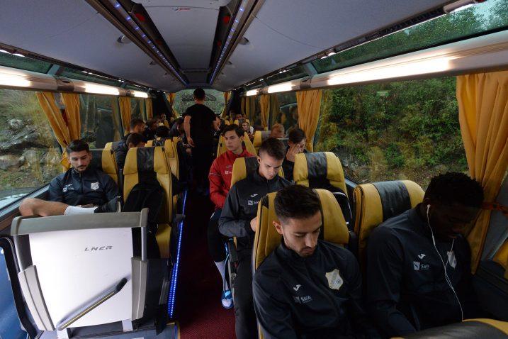 Igrači Rijeke odlučili su prekinuti komunikaciju s medijima već u Bujama/Foto D. ŠKOMRLJ