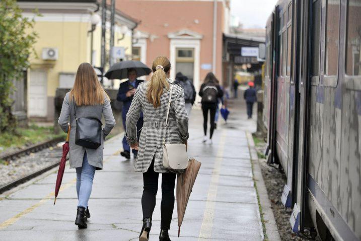 Vlakom se do sada vozilo u prosjeku između šezdeset i sedamdeset korisnika dnevno / Foto Vedran KARUZA