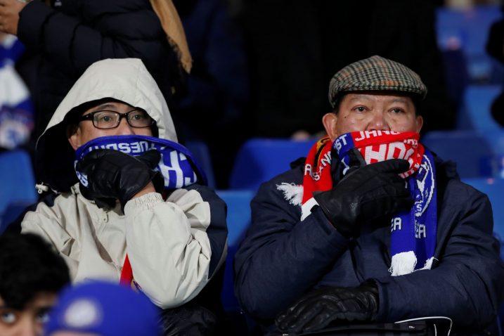 Slika sa tribina londonskog derbija koja govori puno toga/Foto REUTERS