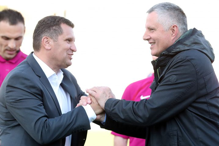 Treneri Igor Cvitanović i Tomislav Ivković/Foto PIXSELL
