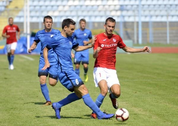 Edin Fatić postigao je jedan od četiri pogotka/V. KARUZA