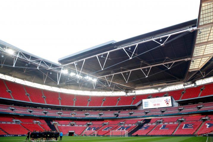 """U engleskom hramu nogometa prošle godine nastupili su i """"kockasti"""" u Ligi nacija/Foto REUTERS"""