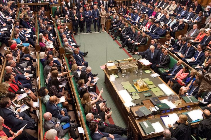 Foto UK Parliament/Jessica Taylor/Handout via REUTERS