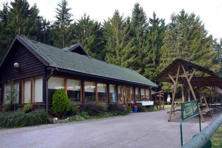 Restoran u park-šumi primat će ubuduće goste i tijekom zime / Snimio Marinko Krmpotić
