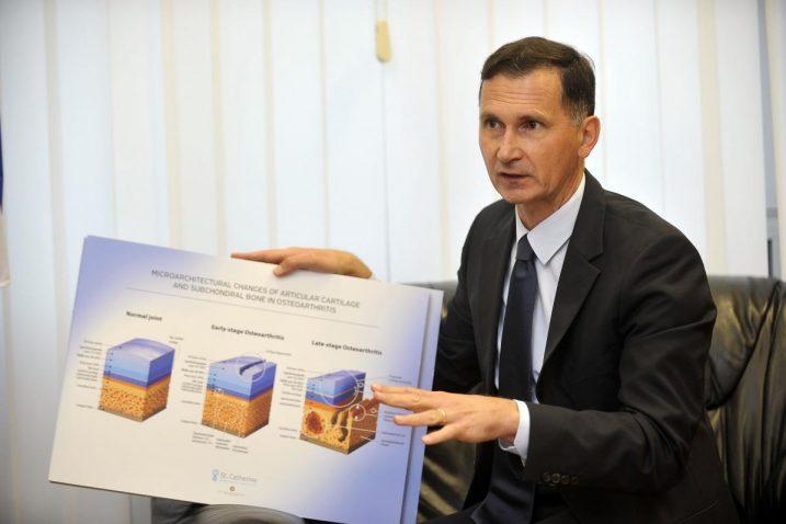 Voditelj projekta prof. dr. Dragan Primorac/Foto D. KOVAČEVIĆ