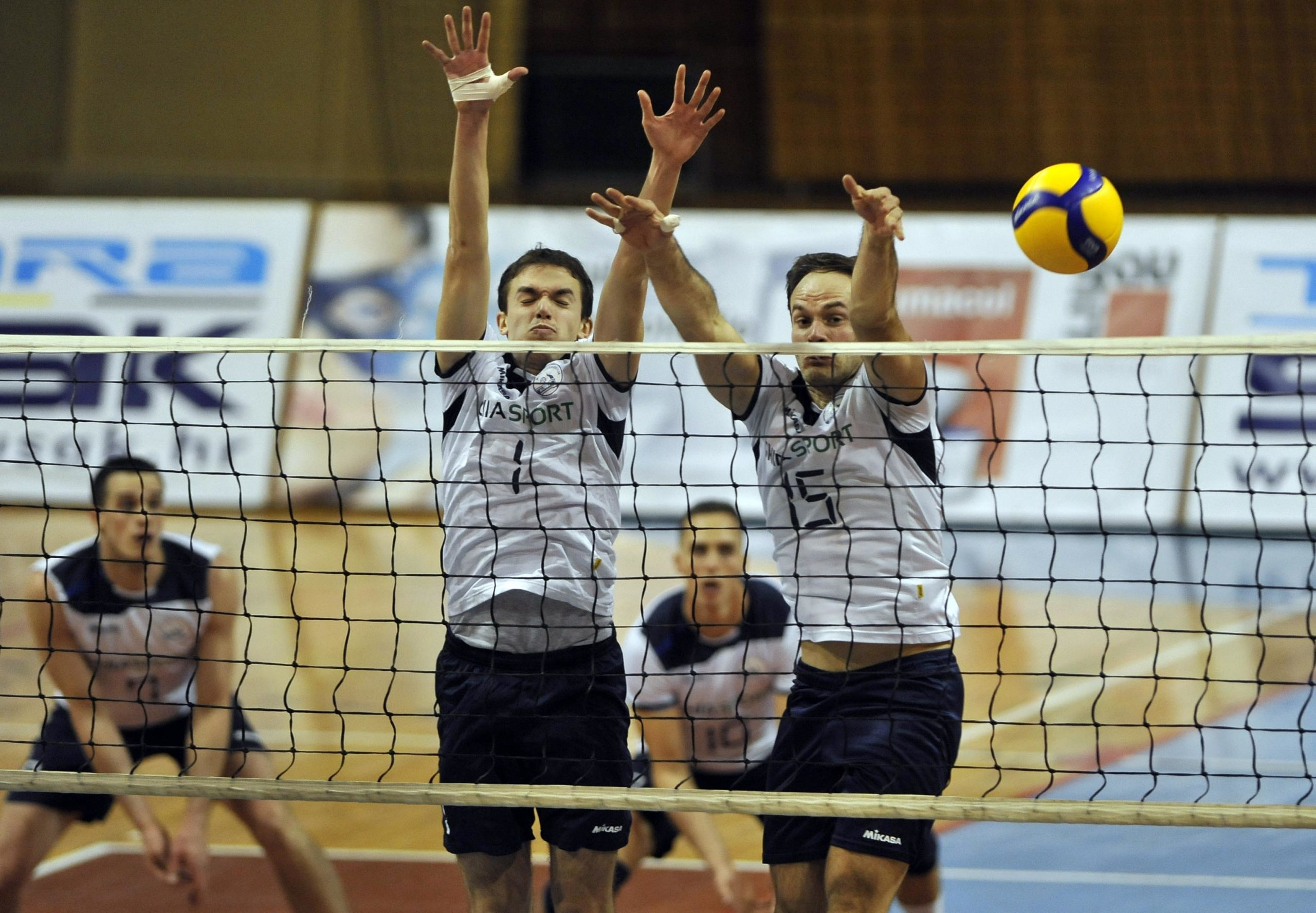 Fran Pavlović i Davor Bogdanović u riječkom bloku/Foto Arhiva NL