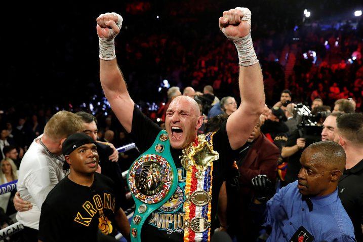 Tyson Fury/Foto REUTERS