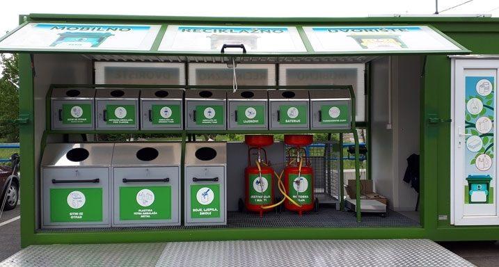 Mobilno reciklažno dvorište / NL arhiva