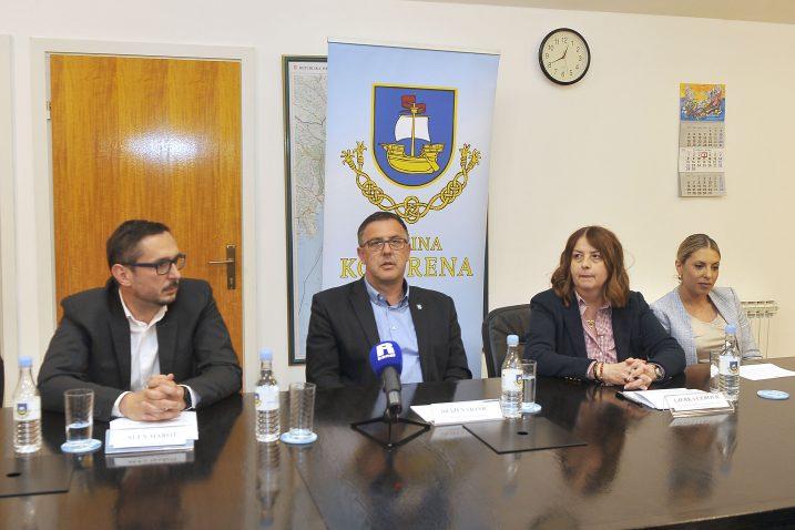 Alen Marot, Dražen Vranić, Ljerka Cerović i Martina Zekić/ Foto: V. Karuza