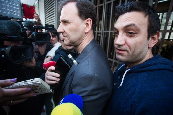 Franjo Varga (desno) / Foto Davor Javorovic/PIXSELL