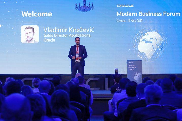 Vladimir Knežević na Oracle MBF 2019.