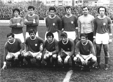 Orijentova ekipa iz 1974.: Žiković, Brnelić, Škrtić, Celić, Klevisar, Čalović (gornji red), Čohar, Veljačić, Volf, Kovačić i Malvić (čuče)