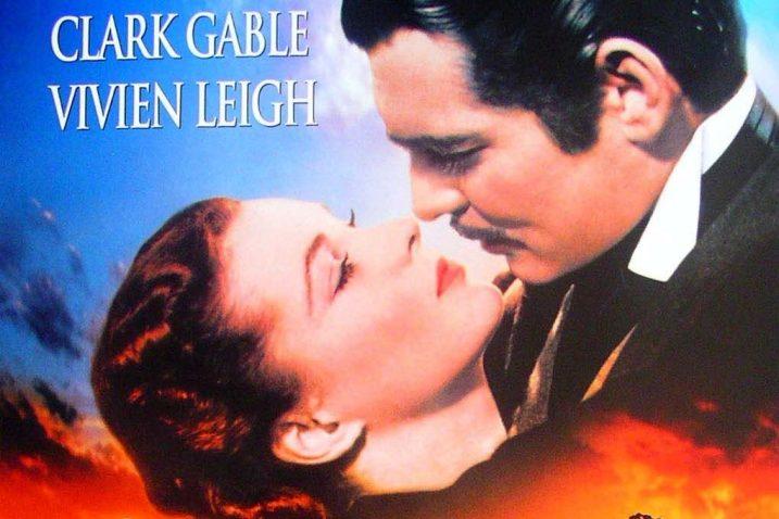 """Detalj s plakata koji je promovirao film """"Prohujalo s vihorom"""""""
