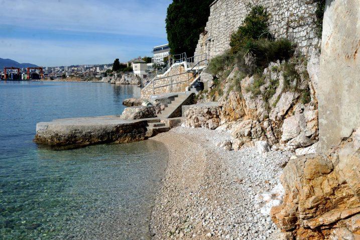 Riječke plaže će se i dohranjivati / Foto Marko GRACIN