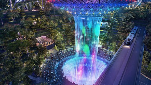 Izvor: Jewel Changi Airport