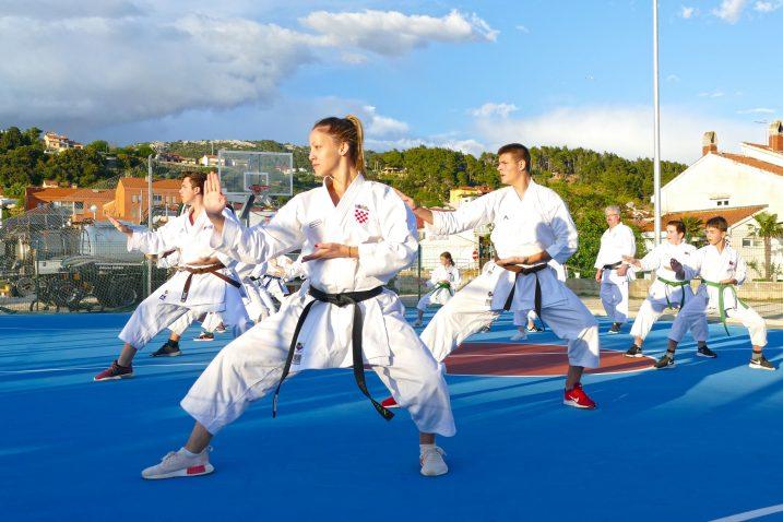 Karate klub Rab Enpi / Foto Hrvoje HODAK